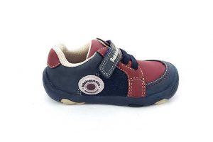 Zapato Justo Velcro - Cordón para Niño - Bubble Gummers 3520-712